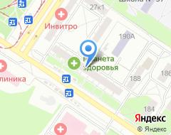 Компания АКБ РОСБАНК Уральский филиал на карте города