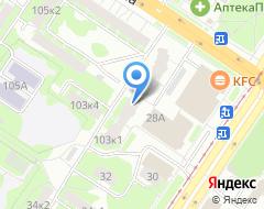 Компания Банкомат БИНБАНК на карте города