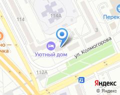 Компания Копировальная контора на карте города