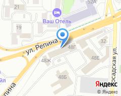 Компания ААА на карте города