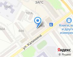 Компания Верхнепышминская типография на карте города