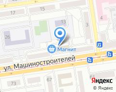 Компания Минимаркет печатной продукции на карте города