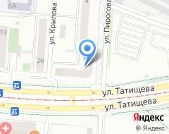 Компания Уральское информационное агентство на карте города