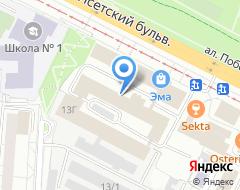 Компания Мегус-АМТ на карте города