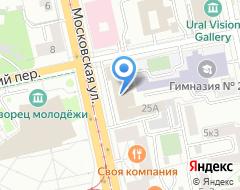 Компания Банкомат Екатеринбургский муниципальный банк на карте города