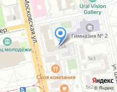 Компания Школа им. П.П. Хожателева на карте города