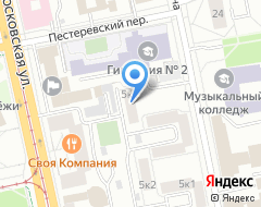 Компания Левъ & Левъ-Аудит на карте города