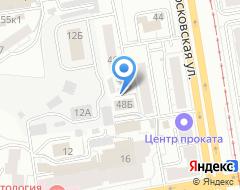 Компания Уралсертификат на карте города