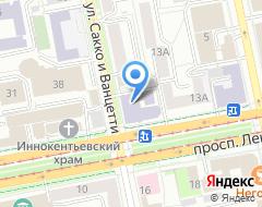 Компания Свердловский мужской хоровой колледж на карте города