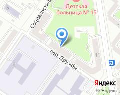 Компания Шахматная федерация г. Екатеринбурга на карте города