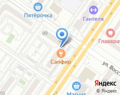 Компания Изба на карте города
