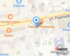 Компания Наша Газета на карте города