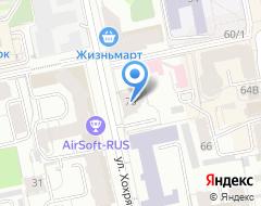 Компания Банкомат МТС-Банк на карте города