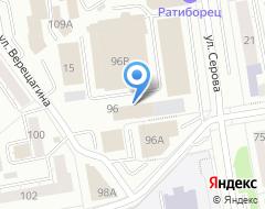 Компания Центр Кредит на карте города