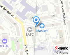 Компания Астра-Металл на карте города