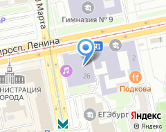 Компания УГК на карте города