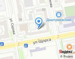 Компания Сурикова 50 на карте города
