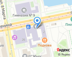 Компания Радуга Экспо на карте города