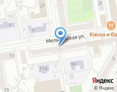 Компания Пресс-сервис Урал на карте города