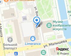 Компания Нефтяник на карте города