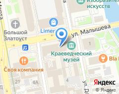 Компания Банкомат СКБ-Банк на карте города