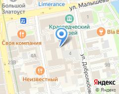 Компания Судостроительный банк на карте города