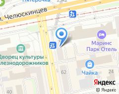 Компания Баст на карте города