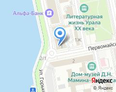 Компания Адвокатская контора №60 на карте города