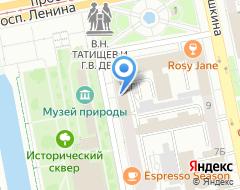 Компания АКБ Легион на карте города