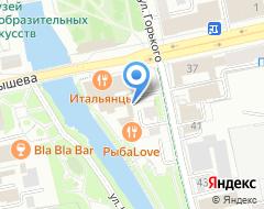 Компания МЕТКОМБАНК на карте города