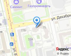Компания УралПриватБанк на карте города