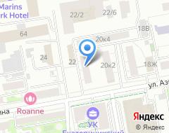Компания Страховое бюро на Азина на карте города
