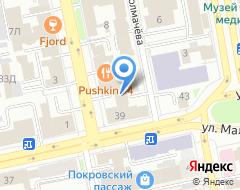 Компания Brandiziac на карте города