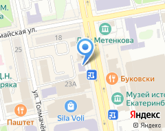 Компания Институт моды на карте города