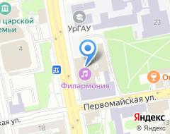 Компания Креп Де Шин на карте города