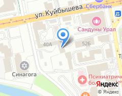 Компания КОЛЕСО на карте города