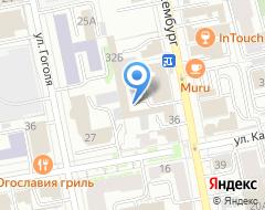 Компания Учебно-методический центр профсоюзов Свердловской области на карте города