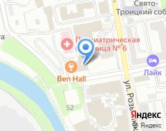 Компания ДЖЕНЕРАЛИ ППФ СТРАХОВАНИЕ ЖИЗНИ на карте города