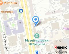 Компания Екатеринбургский учебный центр Федеральной противопожарной службы на карте города