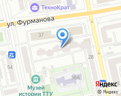 Компания Листик и Партнеры-Екатеринбург на карте города