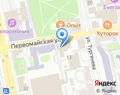 Компания Восток-сервис на карте города