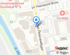 Компания Диалекс на карте города
