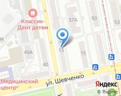 Компания Агентство ПЕРЕВОДОВ на карте города