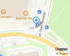 Компания Автоломбард ЛАВТО на карте города