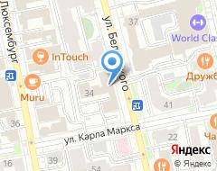 Компания ПожКонсалтинг на карте города