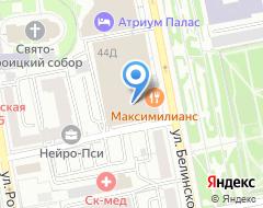 Компания АльфаПромек на карте города