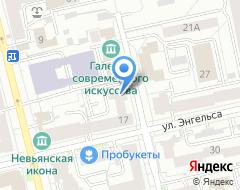 Компания Банкомат АК БАРС Банк на карте города