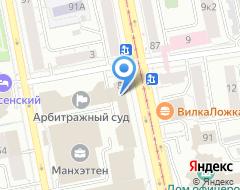 Компания Партнеры на карте города