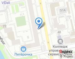 Компания ВЕССКО на карте города