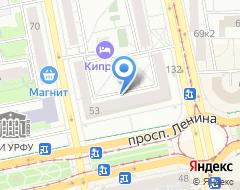 Компания Reebok на карте города